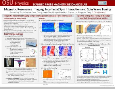 Chris Hammel Research group poster