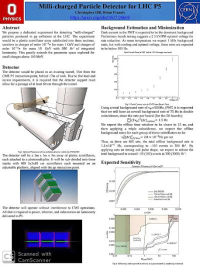 Chris Hill research poster