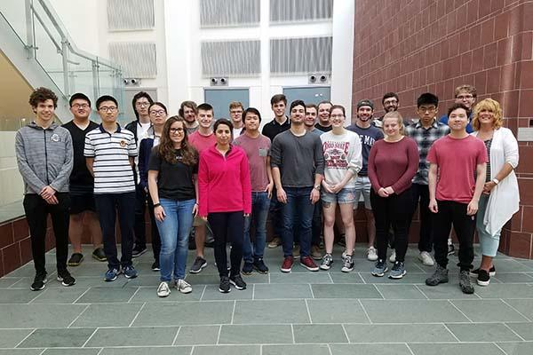 2019 Physics Summer Research Scholars