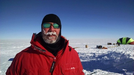 Dr. Jim Beatty in Antarctica