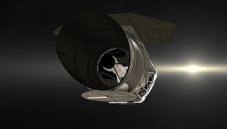 photo of the Wide Field Infrared Survey Telescope
